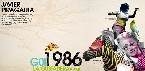 La Gustadera, G0! 1986. Web Design Example