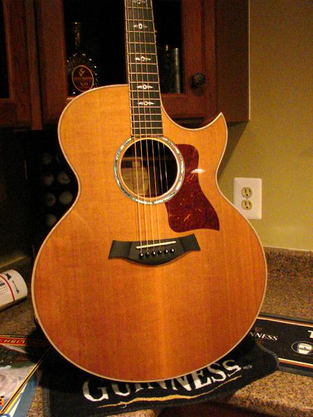 So bob taylors calls you and says the acoustic guitar - Cocobolo granada ...