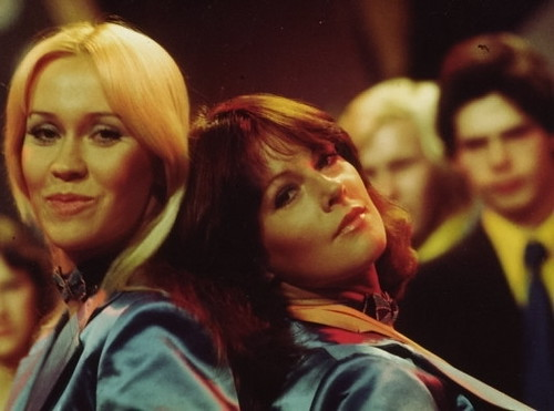 Frida and Agnetha of ABBA