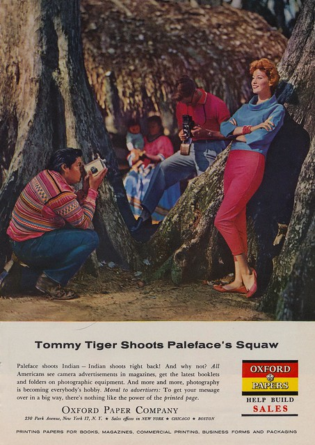 """Tommy Tiger Shoots Paleface""""s Squaw"""