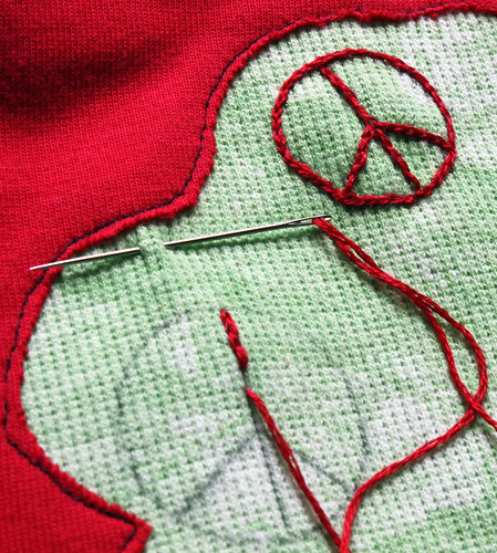 Applique Reverse Applique Embellishment - Free Sewing Patterns and
