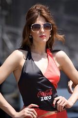 Coke girl in the sun