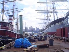 Porto de Nova Iorque nos EUA