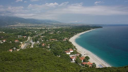 beach nature places greece leptokaria kentrikimakedonia paraliapanteleimonos