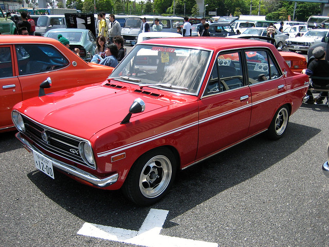 Nissan Sunny(B110) sedan