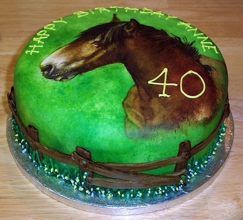 Birthday Cake Design Horse : horse cake - a photo on Flickriver