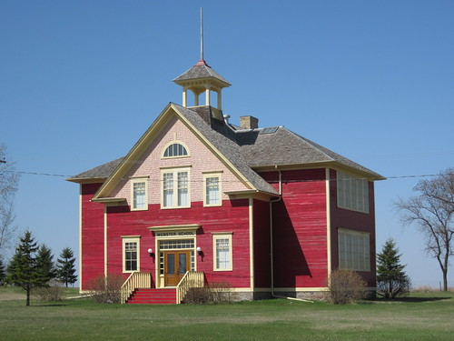Webster ND school house