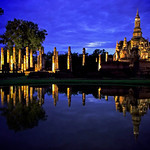Temple Sunset - Sukhothai, Thailand