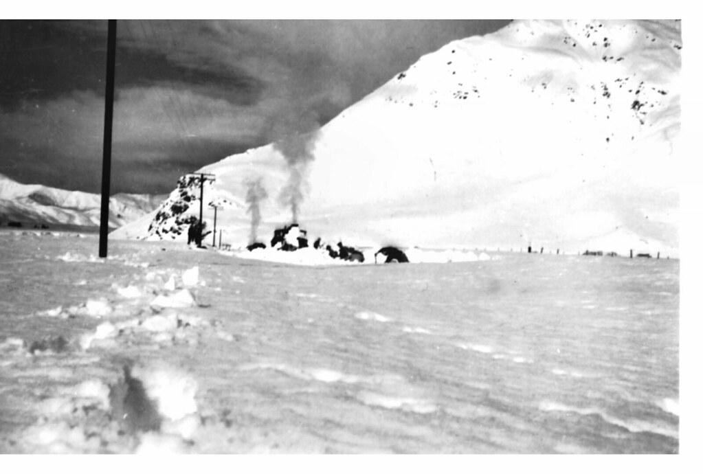NZR Fairlight - Garston: Big snow of 1939