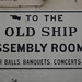 To the Old Ship Assembly Rooms