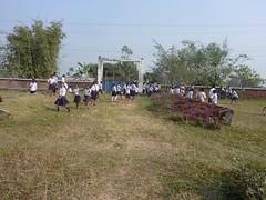 Students of Ranapal School, Dangihat