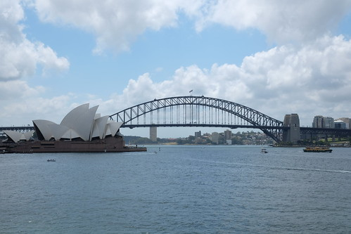 from Mrs Macquarie's point