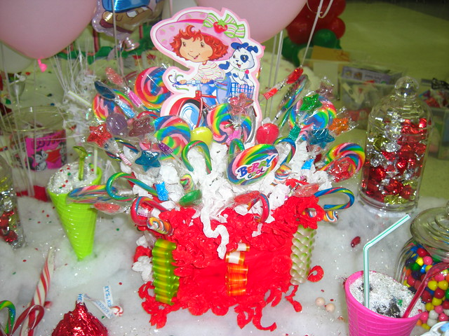 Strawberry Shortcake Candyland Birthday Party Decorations Flickr Photo Sharing