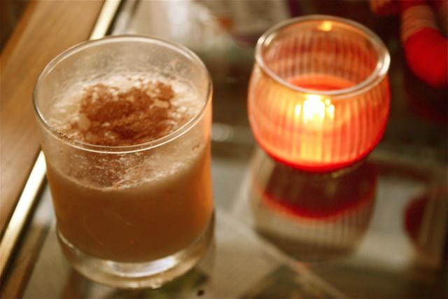 Birthday bourbon milk punch | Flickr - Photo Sharing!
