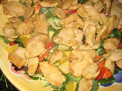 stew(0.0), curry(0.0), vegetarian food(0.0), pakora(0.0), produce(0.0), meat(1.0), food(1.0), korma(1.0), dish(1.0), cuisine(1.0),