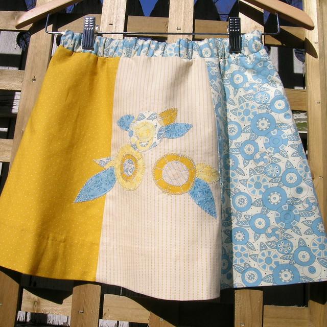 six panel skirt #2