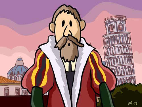 Galileo en Pisa