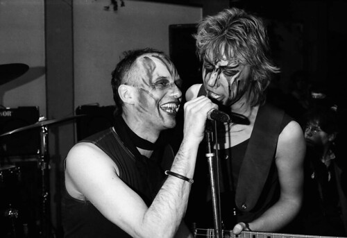 Santa Clan im JC Weinbergsweg am 5. März 1988 - Aljoscha Rompe und Christoph Zimmermann / Foto (c) Stefan Mai