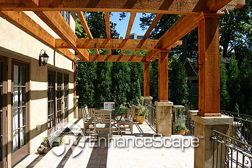 backyard pergola design flickr photo sharing