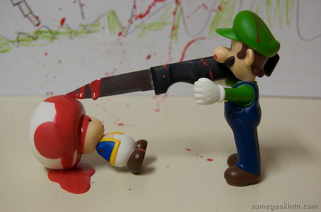Video Game Violence (55 / 365)