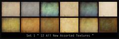 12 Assorted Textures