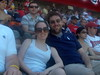 Nick, the gang and I at the Nationals Game