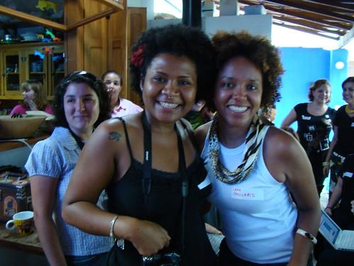 @acharolastra e @larajanuario, no LuluzinhaCamp #3, foto da @lidifaria em CC-BY-NC