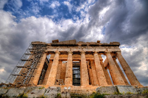 The Parthenon - Acropolis of Athens