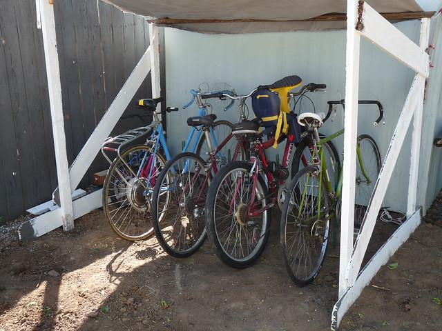 Covered Bike Storage : Covered bike storage flickr photo sharing