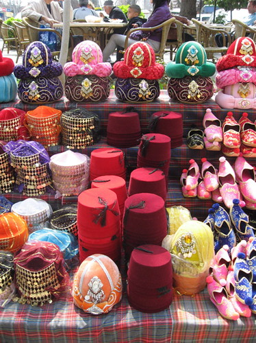Hat stall, Istanbul
