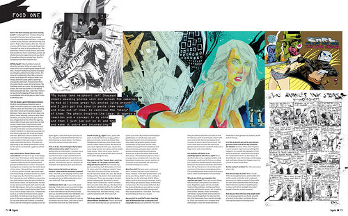 Jim Mahfood - BPM Magazine Interview