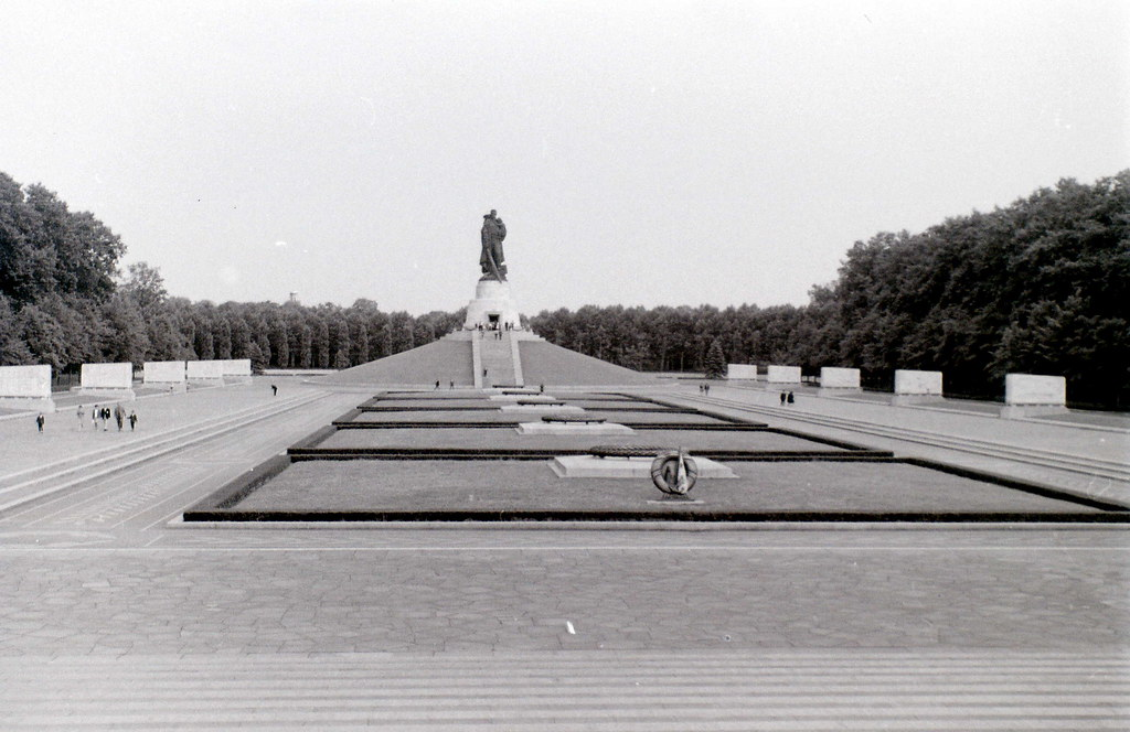 Treptower Park Soviet War Memorial, East Berlin, June 1964