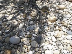 boulder(0.0), stone wall(0.0), soil(0.0), sand(0.0), rubble(0.0), cobblestone(1.0), pebble(1.0), rock(1.0), gravel(1.0),