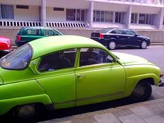 compact car(0.0), automobile(1.0), vehicle(1.0), mid-size car(1.0), antique car(1.0), sedan(1.0), classic car(1.0), vintage car(1.0), saab 92(1.0), saab 96(1.0), land vehicle(1.0),