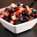 Three Berry Fruit Salad