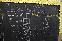 wall(0.0), writing(0.0), brand(0.0), handwriting(1.0), chalk(1.0), text(1.0), number(1.0), font(1.0), blackboard(1.0),
