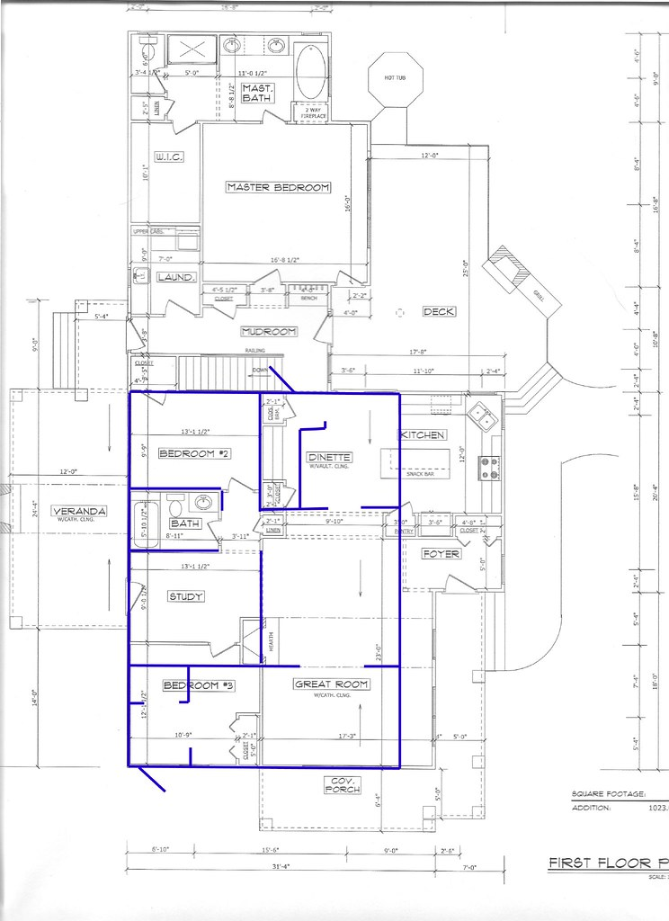 Addition home plans find house plans for Room addition blueprints