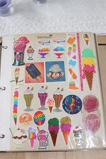 Old Skool Ice Cream Stickers