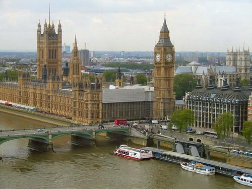 London Eye Palace of Westminster