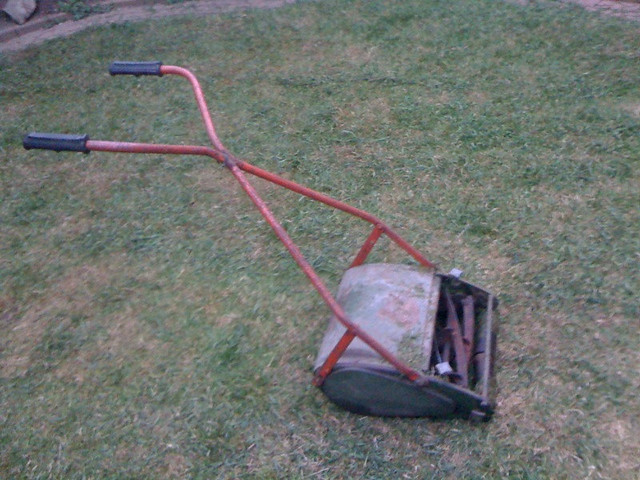 Antique Jacobsen Riding Mowers by Michael