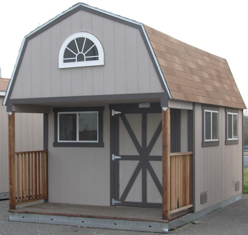 Convert Home Depots 2 story storage building for Cabin The