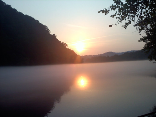 sunset clinchriver norristennessee