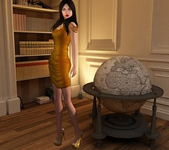 [AMARELO MANGA] - DRESS IZADORA [ GOLD]