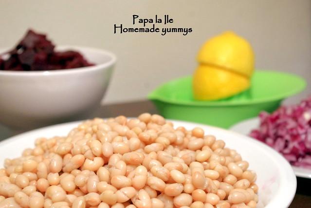 Salata cu fasole boabe si ton (2)