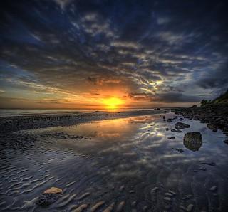Reflecting the Sunrise