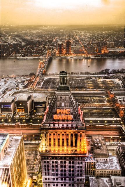 View from Carew Tower, Cincinnati