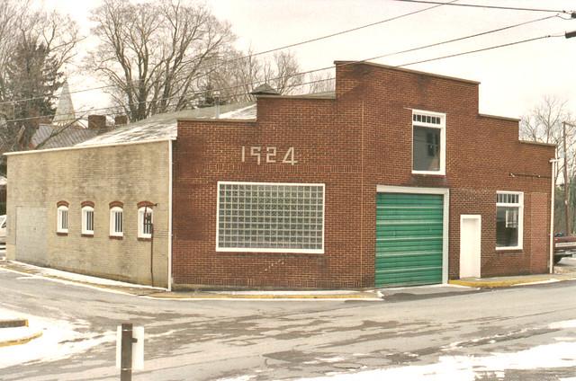 1924  quot  Old auto repair shop  Athens  WVOld Auto Repair Shop