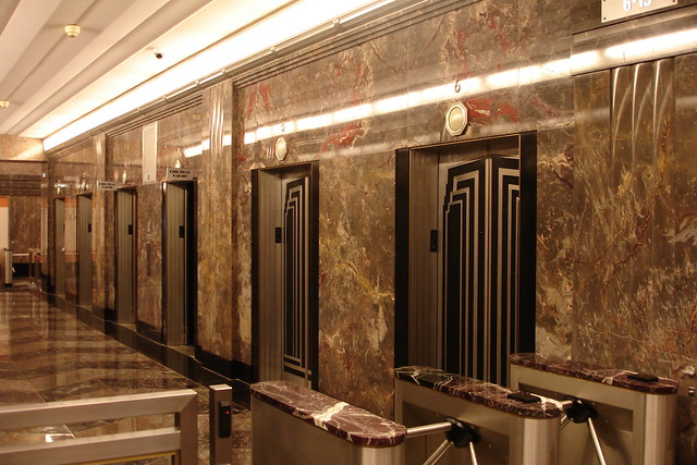 Empire State Building Elevator