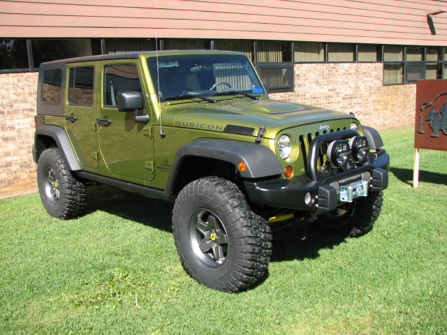 Rescue Green AEV JK American Expedition Vehicles