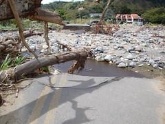Rio Caldera Flooding Consumes this Road